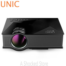 Mini Portable UNIC UC46+ Wireless WIFI Full HD LED Video Home Cinema Projector Miracast DLNA Airplay US EU Plug PK VS314 UC30