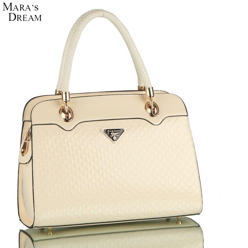 Maras Dream Fashion Women Top-handle Bag Shoulder Bags 2017 Pink PU Leather Handbags Ladies Tote Messenger Bags Bolsas Feminina<br><br>Aliexpress
