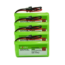4 x PKCELL 2.4V 800mAh Ni-MH Cordless Phone Battery For Uniden BT-1008 BT-1016 BT-1021 BT-1025