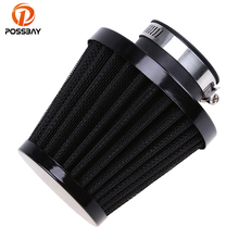POSSBAY 35mm/39/mm/48mm/54mm/60mm Universal Motorcycle Air Filter Cleaner Motor Air Pods ATV Quad Dirt Pit Bike for Honda Suzuki(China)