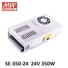 ac dc power source 24V 14.6A 350W Meanwell Switch Power Supply SE-350-24 Industrial Economical medium to high power model 24V