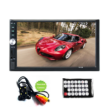 Car audio car Stereo Bluetooth auto Radio HD 7 inch 2 DIN Touch Screen autoradio Player Hands-free call Support Rear View Camera