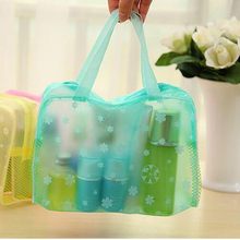 1PC 5Colors Travel Waterproof  Wash Storage Bags For Home Makeup Bag Shower Bags Laundry Pouch Bag