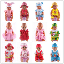 Doll Accessories,14 color jumpsuits Doll Clothes Wear fit 18 inch American Girl,43cm Baby Born zapf, Children best Birthday Gift