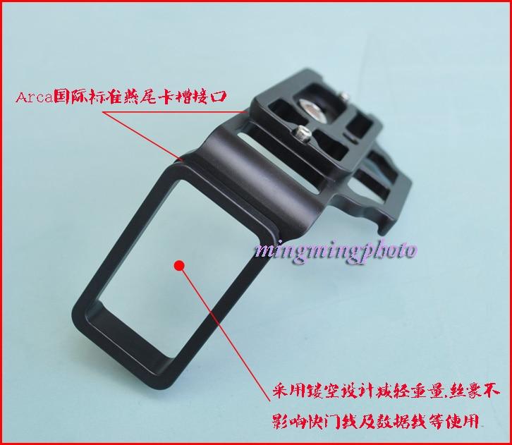 Benro Arca-estilo de la placa base Personalizado Para Nikon D800//D810