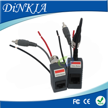 New Arrival !!! CCTV CAT5 Balun RJ45 Video Power Balun Video Audio Power Data  for camera 1Pair  DS-UP013C