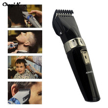 Professional Washable Electric Hair Clipper Rechargeable Beard Trimmer Washable Cutter Shaver Cordless Razor for Men Face Care