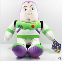 Toy Story Plush Toys 33cm  Buzz Light Year Doll  Game Cartoon Free Shipping