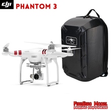DJI Phantom 3 Standard with Hardshell Backpack FPV Drone Built in 2.7K HD Camera GPS System Live View RC Quadcopter(China)