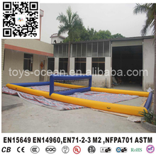 Inflatable Soap Football field Pitch Court Inflatable Volleyball pitch