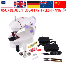 Mini Desktop Portable Electric Sewing Machine Home Teaching Handmade Sewing Matching Tools Overlock