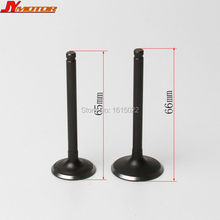 Motorcycle lifan engine parts 150cc Bike Horizontal Engine Intake Valve and Exhaust Valve Parts with valve seal free shipping