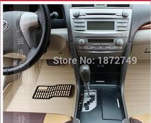 for Toyota Camry 40 Corolla RAV4 Verso FJ Land Cruiser LC 200 Prado 150 120 3D car-styling carpet Custom fit car floor mats(China)