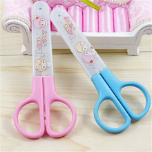 DIY Resin Craft Scissors Cute Kawaii Scrapbooking Scissors Kids Gift Home Decoration School Supplies Free Shipping 1201