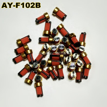 Free Shipping 5000units top quality fuel injector micro filter with 10.7*6*3mm ASNU003 for denso injector toyota (AY-F102B)(China)