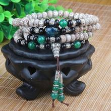 IB3186 Tibetan 108 beads Bodhi seeds Starmoon prayer beads mala wholesale,new design new arrived!(China)