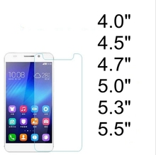 "0.3mm 2.5D Universal Premium Tempered Glass 4.7"" Screen Protector 4.7 inch For China Brand Mobile Phone 100pcs(China)"