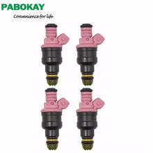 4 pieces x New Fuel Injector 96-99 FOR BMW 3 328I 328IS 528I M3 Z3 E36 E39 E38 2.8L 3.2L 0280150440 0 280 150 440 13641703819