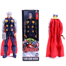 New! 1pc 12inch Marvel X-man toys The Avengers action toys Super hero Thor Action Figures PVC toys for boys(China)