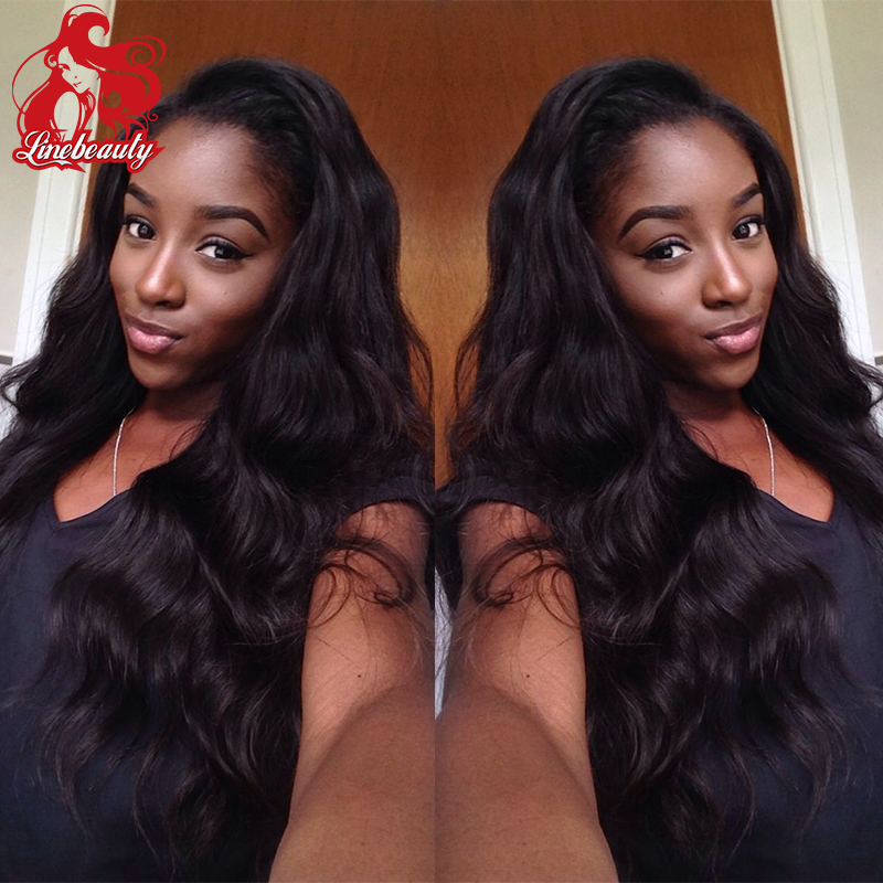 cheap sale color #1b black body wave heat resistant malaysian body wave synthetic lace front wig lace wigs for black women<br><br>Aliexpress
