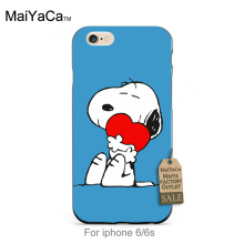Black Silicone caseIndoor Fun With The Dog Heart Diy Colorful Printing Drawing   phone case For iPhone 4 5 5c 6 6plus 7 7plus