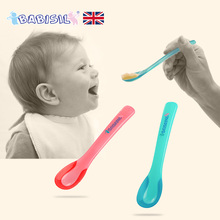 2PC PACK PP SPOON TEMPERATURE SENSITIVE SPOON FOR BABIES FOOD STARTER(China)