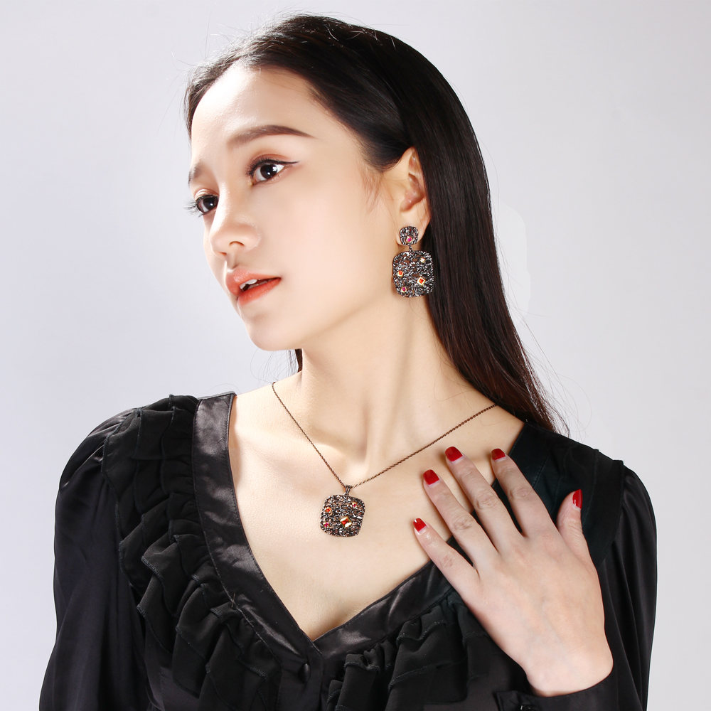 necklace & earrings set (4)