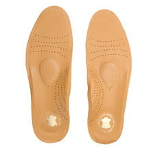 Comfortable Leather Latex Orthopedic Insoles Cushion Antibacterial Active Carbon Orthotic Arch Support Flat Foot Shoe Insole Pad