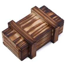 High Quality Wooden Secret Box Educational Magic Box Case Drawer Intelligence Compartment Gifts Brain Teaser Puzzle Toys Caixa