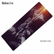Babaite High Quality Gaming Mouse Pad For cs dota2 world of tanks brand Sewing edge computer gaming mousepads Gamer mause Mat