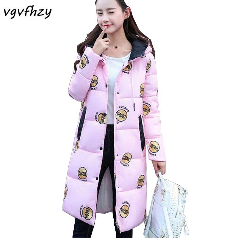 High Quality Winter Jacket Women 2017 Fashion Cotton-padded Hooded Jacket Parka Female Wadded Coat Thickening Long Outerwear 485Îäåæäà è àêñåññóàðû<br><br>