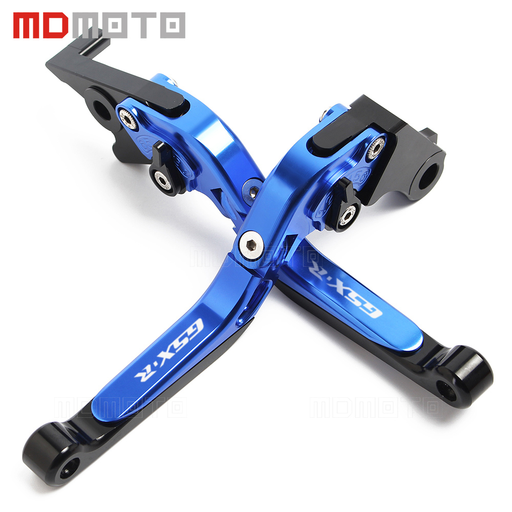 For Suzuki GSXR 600 750 1000 GSX-R GSX R 600 GSXR750 GSR 750 600 GSX-S750 Motorcycle Adjustable Extendable Brake Clutch Lever<br>