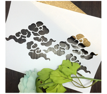 Cloud Scrapbooking tool card DIY album masking spray painted template drawing stencils laser cut template AP7050202