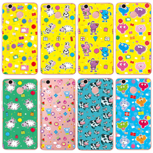2017 Cow 3D Fashion Cute Cartoon Animal Pig Birds Cow Cat Cases For Xiaomi Redmi 4X Cover Soft Silicone Coque free shipping(China)