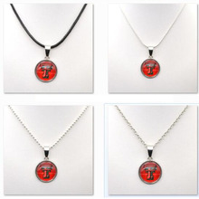 Necklaces Pendants NCAA Texas Tech Red Raiders Charms University Team Choker Necklace Women Gifts Party Birthday Fashion 2017(China)
