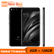 "Original Xiaomi Mi6 Mi 6 6GB RAM 128GB ROM Snapdragon 835 Octa Core Mobile Phone 4G+ 5.15"" Dual Cameras 12.0MP Fast Charge(China)"