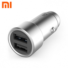 Original Xiaomi Car Charger Dual USB Fast Charging Adapter Competiable with Most Phones(China)