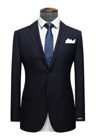 HTB1BUAIRFXXXXbDXFXXq6xXFXXXX - Custom Made Men's Wedding Suits Groom Tuxedos Jacket+Pant+Tie Formal Suits Business Causal Slim Navy Plaid Custom Suit Plus Size