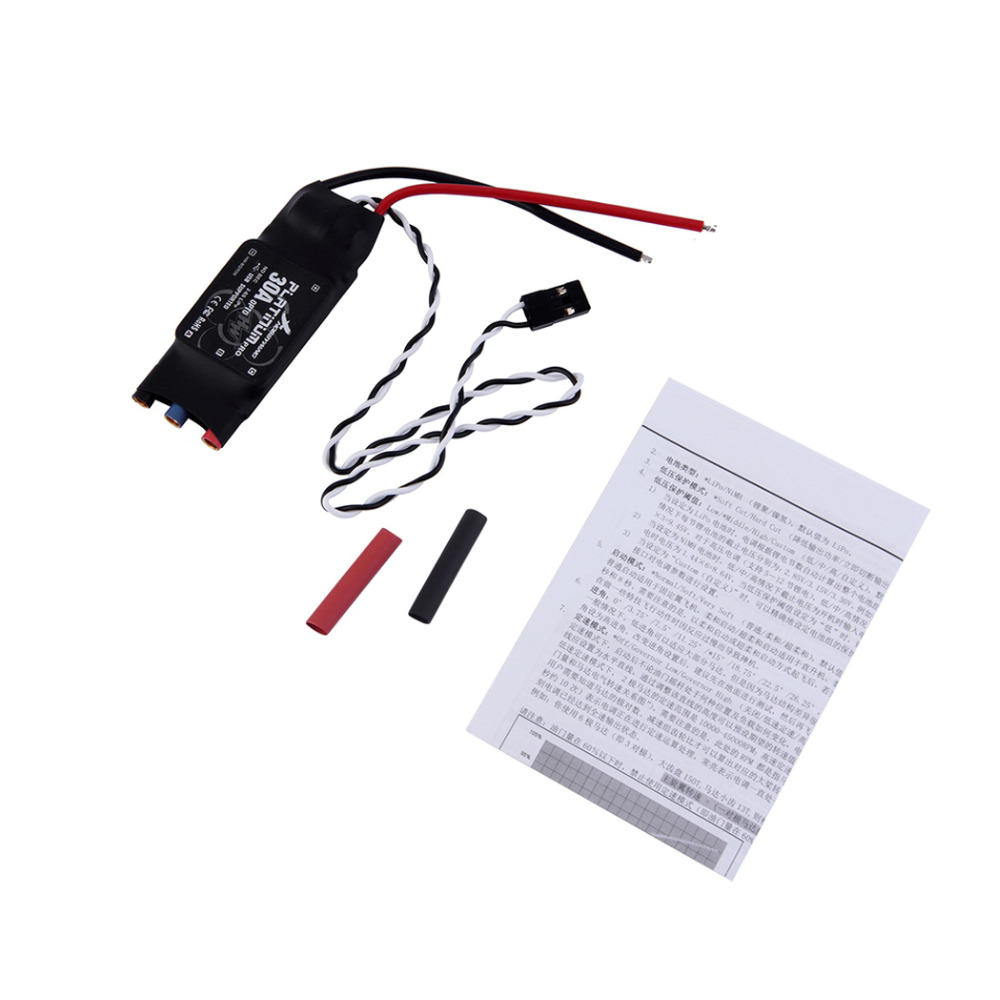 1pcs Platinum 30A OPTO PRO ESC 2 to 6S Speed Controllers Multi-rotor Copter for Hobbywing<br><br>Aliexpress