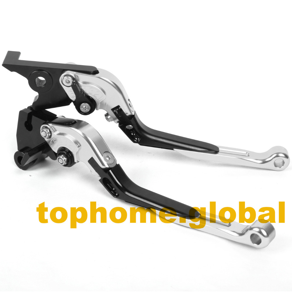 Folding Extendable Clutch Brake Levers For TRIUMPH Tiger EFI T709/955I 1999 - 2006 CNC Adjustable  00 01 02 03 04 05<br>