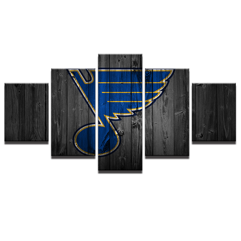 Cubby blue poster frame