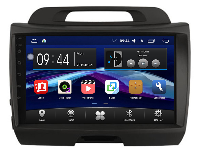 Road Top Android 6.0 System 9 inch Car GPS Navigation DVD Player Radio Multimedia Stereo Head Unit for Kia Sportage 2014 2015
