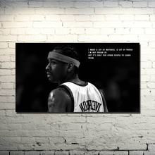 Allen Iverson Basketball Star Silk Cloth Poster 13x24 24x43inch Basketball Pictures for Home Wall Decor 030(China)