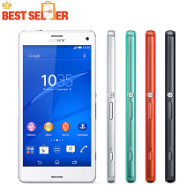 "Sony Xperia Z3 Compact Cell Phone Original Unlocked 3G&4G Quad-Core 2GB RAM 4.6"" 20.7MP WIFI GPS 16GB ROM Mobile Phone"