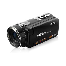 HDV-Z8 HD Digital 24 Mega Pixel Video Camera Camcorder Digital Zoom with Digital Rotation LCD Touch Screen oct.16(China)