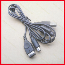 1pcs  2 IN 1 USB Power Charger Cable for Nintendo GBA SP NDS NDSI 3DS 3DSLL Charging Cable