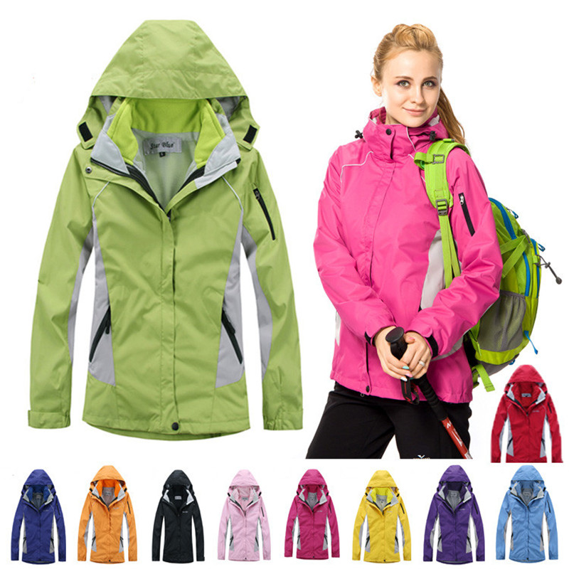Softshell Jacket Women Windstopper Waterproof Womens Hiking Jacket Fleece Liner Breathable Oversize Outdoor Jaqueta Feminina<br><br>Aliexpress
