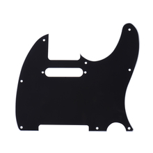 Pickguard Pick Guard 3Ply Construction for Standard Modern Style Electric Guitar Black