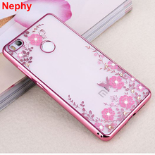 Nephy Case For Xiaomi Redmi 3s 4 4 Pro Prime 4A 4X Note 2 3 4 4X Note2 Note3 Note4 Note4X Cell Phone Cover TPU Diamond Housing(China)