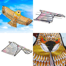 1 Set Hot Sale golden eagle kite with handle line kite games bird kite weifang chinese kite flying Wholesale(China)